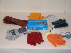 SAFETY CLOTHING (PPE) including-breathing protection,hand protection,eye protection,face protection,head protection,ear protection,hi viz clothing,
