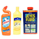 Disinfectants Bleach and Cleaners
