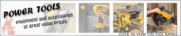Power tools, equipment and accessories